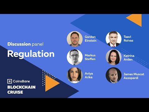 Discussion panel on Regulation topic - Coinsbank Blockchain Cruise 2018
