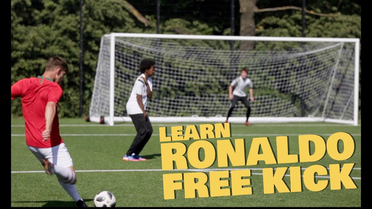 Learn Ronaldo Knuckle ball Free kick - World Cup 2018 skills