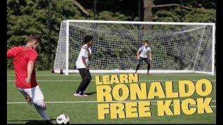Learn Ronaldo Knuckle ball Free kick - World Cup 2018 skills