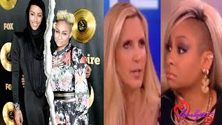 Azmarie breakups with Raven-Symone AFTER Ann Coulter checks the hell outta her on the View