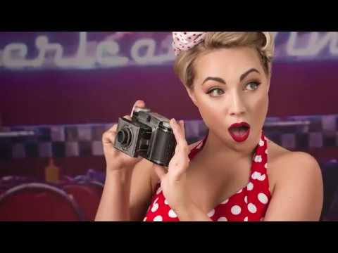Video of 1950's Vintage Makeover and Photoshoot with £50 off Voucher