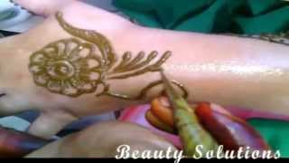Latest Arabic Mehndi Designs 2015 For Hands Step by Step Easy Simple Nice 9 BS