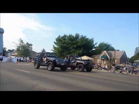 The 2015 Pro Football Hall of Fame Parade