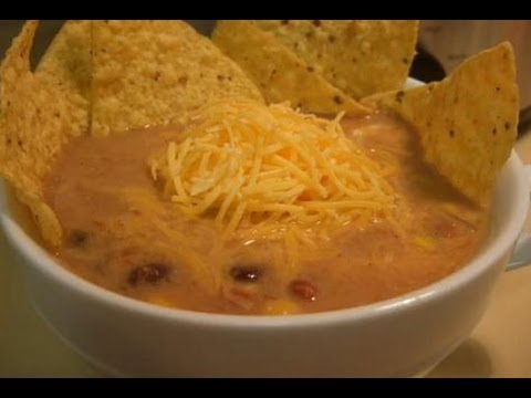 Slow Oven Chicken Tortilla Soup