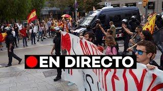 EN DIRECTO: [12 de Octubre] Manifestación antifascista en Barcelona