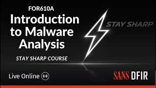FOR610A: Introduction to Malware Analysis Stay Sharp course | Interview with Lenny Zeltser