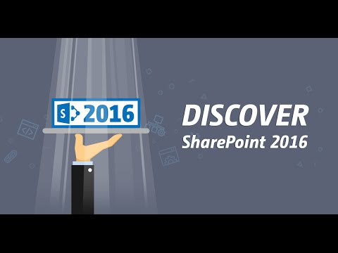 Discover SharePoint 2016