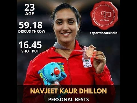 Navjeet Kaur Dhillon - Indian Discus Thrower
