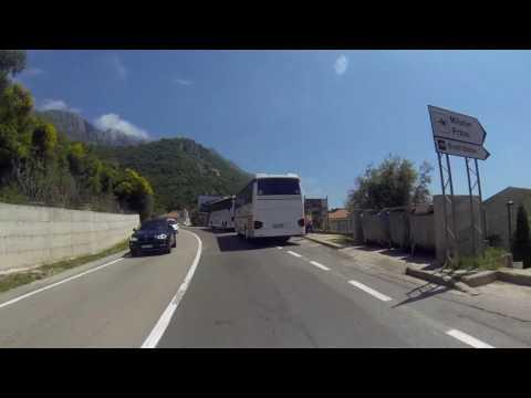 Budva - Petrovac | Beautiful Drive Montenegro 2017.