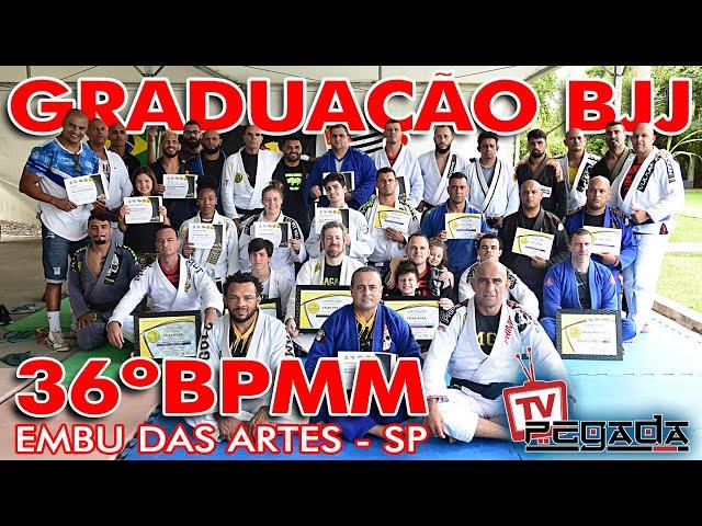 Graduação de Jiu-Jitsu no 36 Batalhão - TV Pegada #208