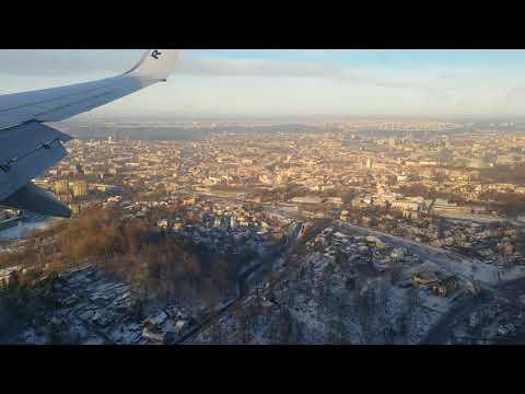 Landing in VILNIUS