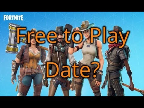 When Will Fortnite Save The World Be Free To Play?