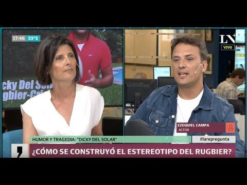 """Ezequiel Campa, ¿cómo nació el rugbier """"Dicky Del Solar""""?"""