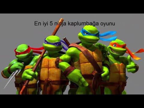 TOP 5 : ninja kaplumbağa oyunu