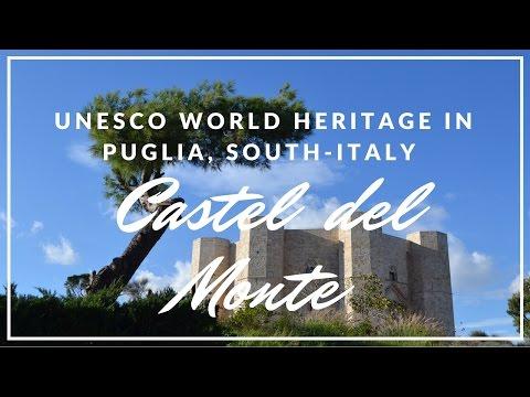 UNESCO World Heritage Castel del Monte in Puglia, South-Italy
