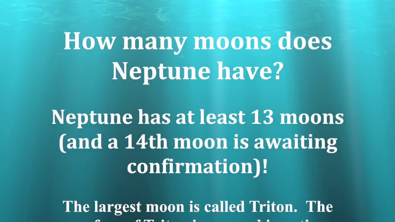 How many moons does Neptune have? | Answer - YouTube
