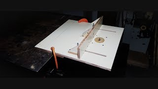 I have wanted a router table for a while now... recently saw Izzy Swan do a homemade one and he inspired me to try one for myself.