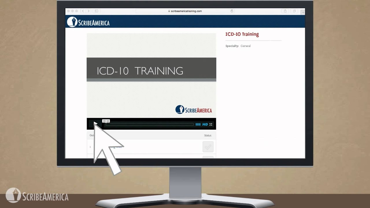 Scribeamerica And Icd 10 3 Our Approach To Icd 10 Training Youtube