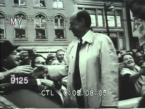 Stock Footage - THIS IS ADLAI STEVENSON - 1956 PRESIDENTIAL BID