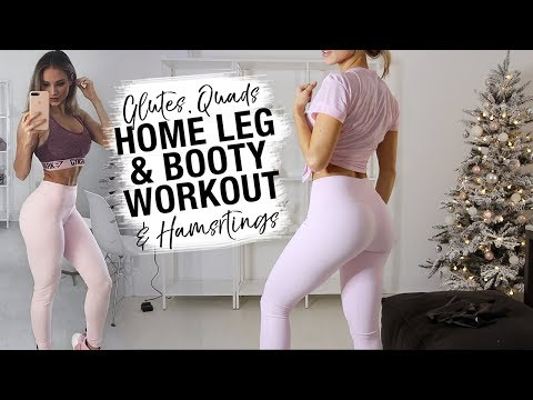GROW YOUR BOOTY AT HOME | Complete Glutes...