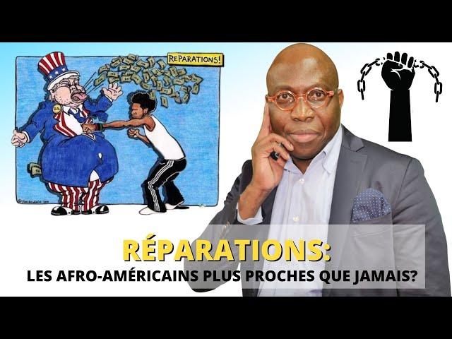 Dr JFA: Réparation, les Afro-Américains plus proches que jamais? ( 7 faiblesses qui nous nuisent)
