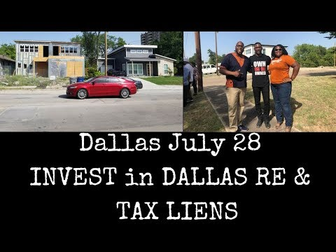 Dallas July 28, Apartment Investing and Grant Cardone