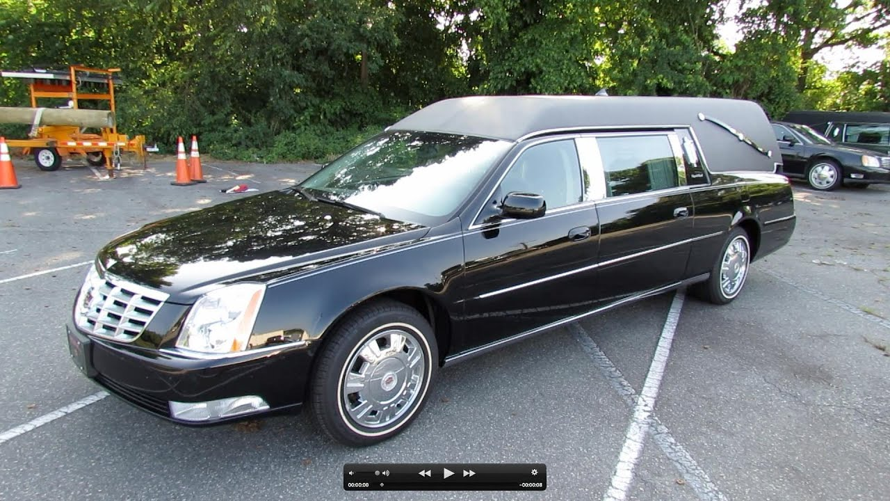 2011 cadillac dts hearse halloween special start up. Black Bedroom Furniture Sets. Home Design Ideas