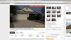 Killeen TX, Foreclosure of the Week / 1 Feb 2017