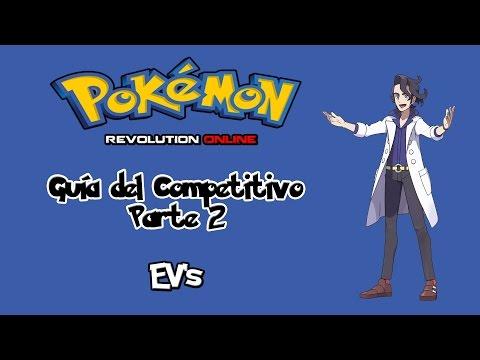 Guía del competitivo # 2 - EV's - Pokémon Revolution Online