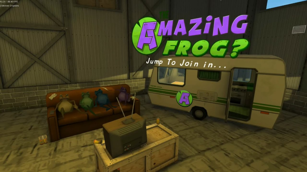 how to make it all foggy in amazing frog