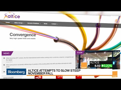Altice Tries to Quell Concerns After Recent Stock Plunge