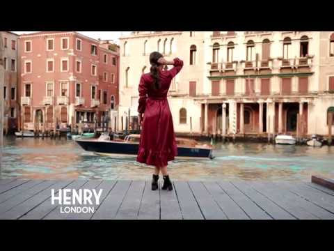 Larisa Costea for Henry London in Venice
