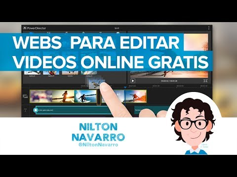 10 webs para editar videos online gratis | #RedesSociales Nilton Navarro