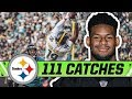 JuJu Smith-Schuster's 111 Catches from 2018 | Pittsburgh Steelers