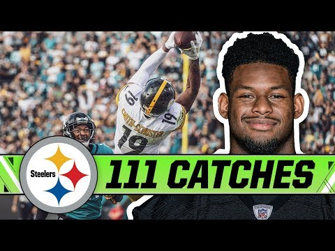 JuJu Smith-Schusters 111 Catches from 2018 | Pittsburgh Steelers