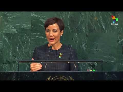 UN Speeches: Jamaica's Minister for Foreign Affairs Mrs. Kamina Johnson Smith
