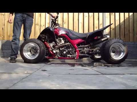 World's first Yamaha Raptor 700 734 with onboard rideheight adjustment (street legal)