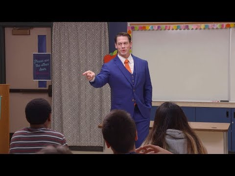 John Cena Becomes a Guidance Counselor for High Schoolers