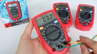 UT33B, UT33C, UT33D мультиметры Uni-Trend, обзор функциональности, оценка точности измерений