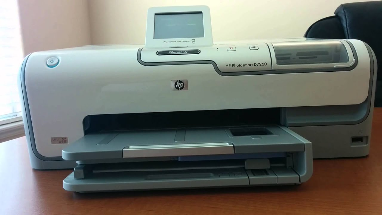 HP PHOTOSMART 7260 PRINTER DRIVER FOR PC