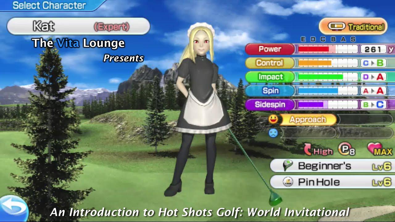 An Introduction To Hot Shots Golf World Invitational Psvita