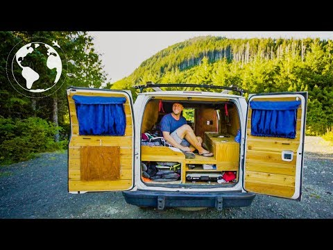 Man Quits Investment Banking to Travel the World in His Van