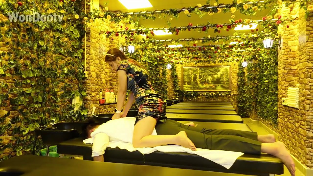vietnam massage barber shop asmr face + shave + Spectacular, amazing, special massage service