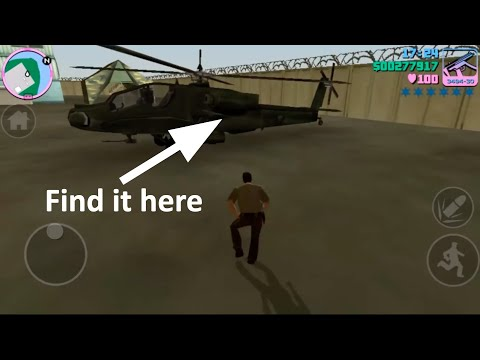Easy Way To Get The Army Helicopter In GTA Vice City