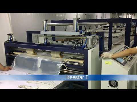 KEESTAR Big Bag Inner Bag Shaping Machine Testing