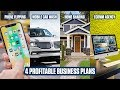 4 Profitable Business Plans You Can Start This Week With Little To No Experience