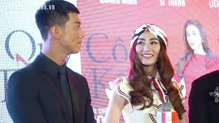 Ngân Khánh bắt Song Luân gọi mình là em, tình cảm đi công chiếu Quý cô thừa kế