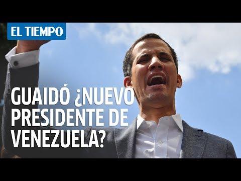 Juan Guaidó se declara presidente interino de Venezuela | EL TIEMPO