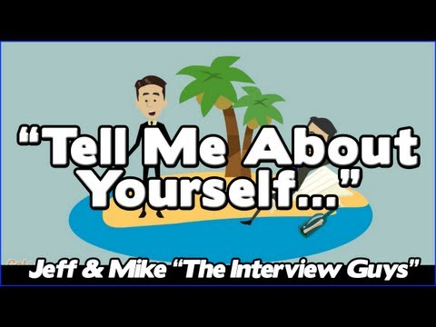 Tell Me About Yourself - Good Answer To This Tough Interview