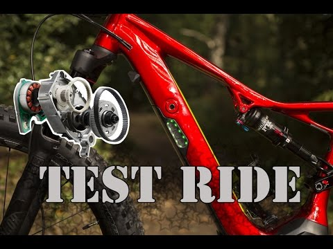 Mark TEST RIDE - Specialized Turbo Levo FSR - Special version - 3 Axis GoPro - Full HD